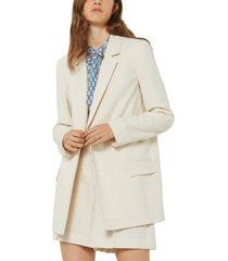 marella open-front blazer