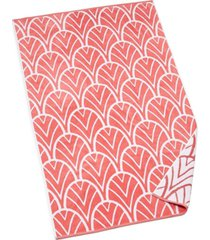 """closeout! hotel collection resort decorative palm cotton 40"""" x 70"""" beach towel, created for macy's bedding"""