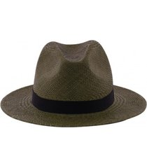 kapelusz green fedora panama