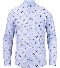 skjorta jpradam print shirt l/s plain