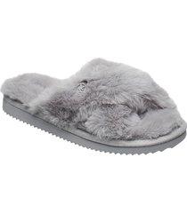 lala slipper slippers tofflor grå michael kors shoes