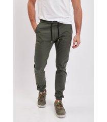 pantalón verde el genovés jogger