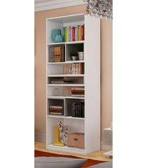 armário biblioteca news narita percasa móveis cinza