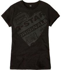 g-star zwart t-shirt sp10636