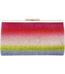 nina windsor ombre crystal embellished frame clutch