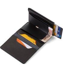 billetera slim wallet cuero tecnología cardprotector hombre 03861