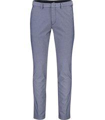 hugo boss pantalon kaito donkerblauw geprint