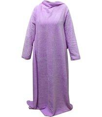 cobertor com mangas zc lilas