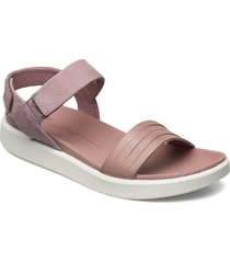 flowt w shoes summer shoes flat sandals rosa ecco