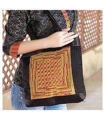embroidered shoulder bag, 'kutch legacy' (india)
