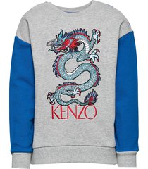 jackson sweat-shirt trui grijs kenzo