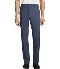 avanti classic flat front trousers