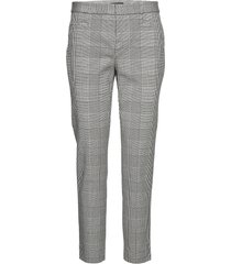 modern sloan skinny-fit washable pant pantalon met rechte pijpen grijs banana republic