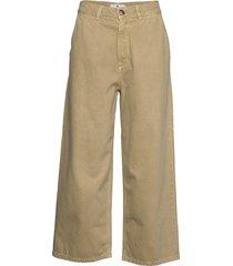 mavis ecru wijde jeans beige arnie says