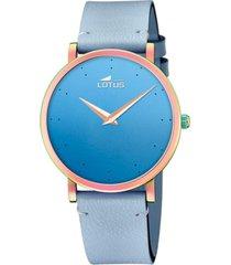 reloj 18778/3 minimalist azul lotus
