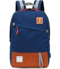 mochila azul zom