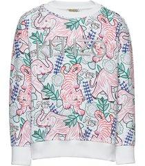 jahna sweat-shirt trui wit kenzo