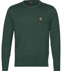 belstaff l/s t-shirt t-shirts long-sleeved groen belstaff