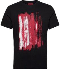 draint t-shirts short-sleeved svart hugo