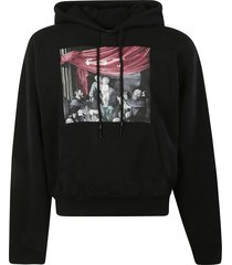off-white caravaggio painting oversized hoodie