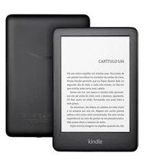 e-reader amazon kindle 10 geração com 6, 8gb com iluminação, preto