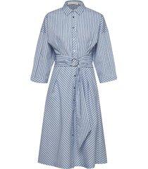 howard dress jurk knielengte blauw inwear