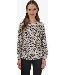 blusa emilia animal print leopard jacinta tienda