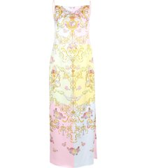 versace jeans couture polyester dress