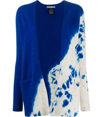 suzusan seamless cashmere cardigan - blue