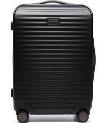 ermenegildo zegna leggerissimo cabin suitcase - black