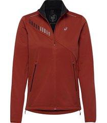lite-show winter jacket outerwear sport jackets röd asics