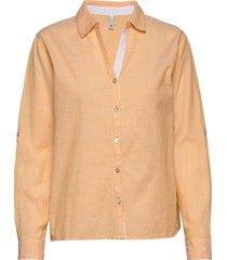 pzl shirt långärmad skjorta gul pulz jeans