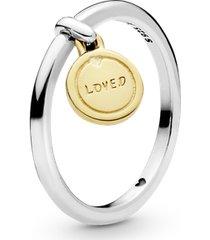 anel medalha do amor
