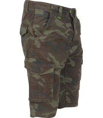 mz72 heren bermuda fresh camouflage - army