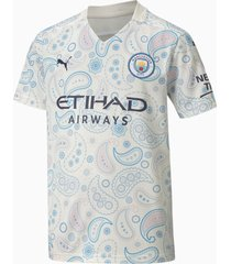 man city third replica shirt, blauw/wit, maat 152 | puma