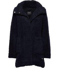 oslo wool loosefit w jkt outerwear sport jackets blå bergans