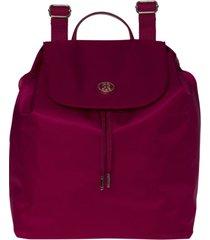mochila roja tommy hilfiger poppy backpack
