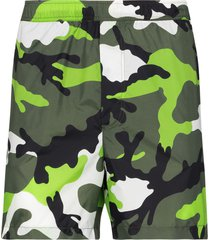 valentino camouflage-print swim shorts - green