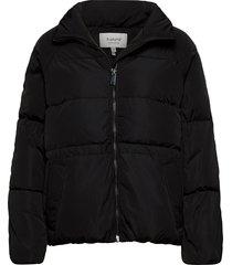bycristel jacket - fodrad jacka svart b.young
