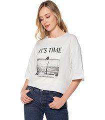 camiseta blanca-negra mng