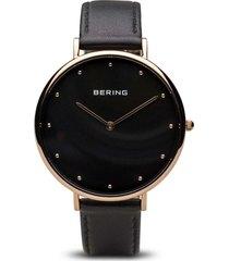 reloj classic  women negro bering