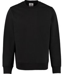 y-3 cotton crew-neck sweatshirt