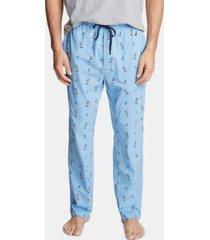 nautica men's cotton pelican-print pajama pants