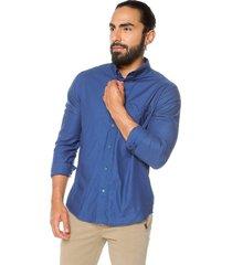 camisa azul brahma hombre cam0183azu