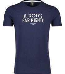 cavallaro t-shirts donkerblauw aristo