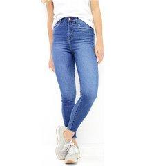 jean para mujer en denim color-azul-talla-14