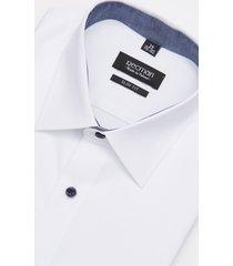 koszula bexley 1320e długi rękaw slim fit biały