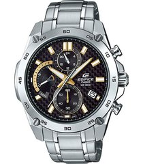reloj casio efr-557cd-1a9vudf negro acero inoxidable