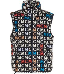 mcm mcm monogram vest