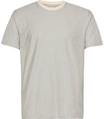 1x1 stripe tee t-shirts short-sleeved grå folk